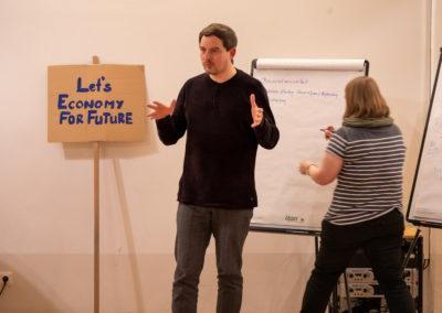 Charlie Rutz vom OMNIBUS für Direkte Demokratie